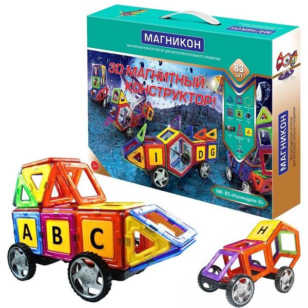 Магникон MK-83 Детский магнитный конструктор