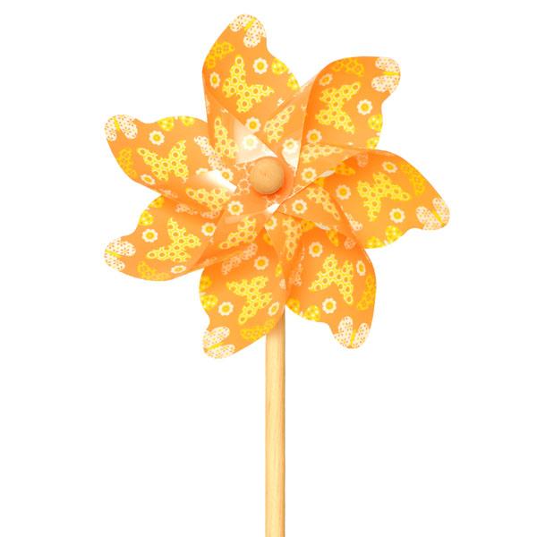 ЯиГрушка 12211 Ветрячок Бабочки оранжевый, 48 см